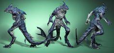 Runequest Thursday - An Infestation of Carcharids! Apocalypse, Scary Mermaid, Goblin Shark, Aliens, Mythological Monsters, Character Art, Character Design, Sculptures, Lion Sculpture