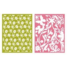 Embossing Folders - Floret