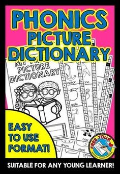 #PHONICS #PICTURE #DICTIONARY - MY FIRST PICTURE DICTIONARY!  This phonics…
