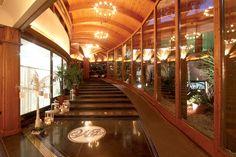 L'ingresso del Blue Marlin Club Blue Marlin, Stairs, Restaurant, Club, Home Decor, Stairway, Decoration Home, Room Decor, Diner Restaurant