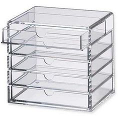 Muji style  high quality Transparent Acrylic Drawer Storage Box Jewelry Box, Fashion Style  5 Cosmetic debris box drawer Cabinet