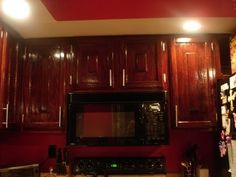 DIY How to: Refinish Refinishing Wood Kitchen Cabinets youtube video