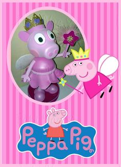 Peppa Pig Fada http://www.elo7.com.br/peppa-pig-em-eva-3d/dp/4C61DE