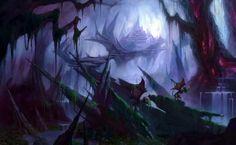 Fantasy Art Castles HD Wallpaper