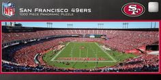 San Francisco 49ers Panoramic Stadium Puzzle