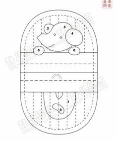 Moldes y tutorial para hacer 8 lindos monederos