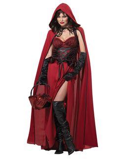 Red Riding Hood Dark Costume - Fairy Tale Costumes at Escapade™ UK - Escapade Fancy Dress on Twitter: @Escapade_UK