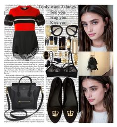 """""""I don't want your money I just want your appeal Kick back, Netflix and chill All I ask is that you keep your end of the deal Boy we got mad time to kill Take your time There's no rush, we alright I ain't goin' nowhere baby Don't you worry, we can do this"""" by labelsoflove ❤ liked on Polyvore featuring Fendi, CÉLINE, Hanky Panky, Georg Jensen, H&M, Arme De L'Amour, Henri Bendel, Prada, Gucci and Charlotte Russe"""