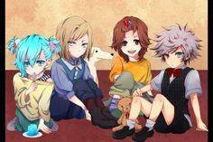 Little Quartet Night~ Ai, Camus, Reiji & Ranmaru