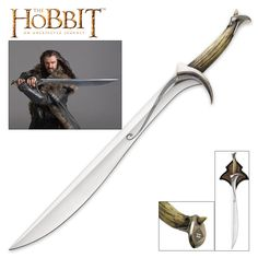 Orcrist Sword of Thorin Oakenshield from The Hobbit   BUDK.com - Knives & Swords At The Lowest Prices!