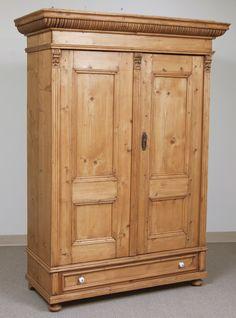 pine armoire image 2 antique english pine armoire