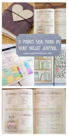 """My definition of a bullet journal is basically a """"Homemade Planner"""". For the official bullet journal instructions, you can check out the original website here. I became obsessed with this idea when my paper planners continued to disappoint me! Bullet Journal Tracker, Bullet Journal Banners, Bullet Journal Page, Bullet Journal Spread, Bullet Journal Inspiration, Journal Pages, Bullet Journal With Graph Paper, Bullet Journal For Dummies, Bullet Journal Essential Pages"""