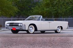 1962 Lincoln Continental Four Door Convertible
