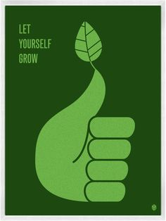 Let Yourself Grow Print | My Little Underground