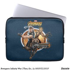 Choose from a variety of Avengers laptop sleeves or make your own! Shop now for custom laptop sleeves & more! Neoprene Laptop Sleeve, Laptop Sleeves, Planet Icon, Marvel Studios Movies, Avengers Infinity War, Marvel Infinity, Computer Sleeve, Rocket Raccoon, Custom Laptop