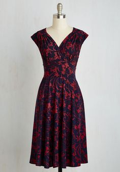 Ease into Elegance Dress in Floral, #ModCloth