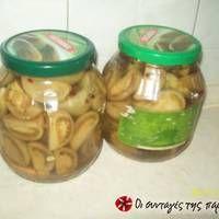 Ντομάτες πράσινες τουρσί Pickles, Cucumber, Main Dishes, Canning, Recipes, Food, Cellar, Art, Main Course Dishes