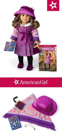 American Girl Doll Rebecca Meet Accessories Black Velveteen Hat ONLY