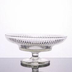 Göran Hongell, KARHULA, tarjoilumalja, Säde, k 11 cm, h 25 cm. Glass Design, Design Art, Clear Glass, Glass Art, Lassi, Finland, Modern Contemporary, Decorative Bowls, Scandinavian