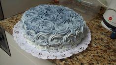 torta rosas degradé