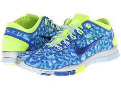 Nike Free TR Connect 2 Hyper Cobalt/Antarctica/Metallic Silver/Volt - Zappos.com Free Shipping BOTH Ways