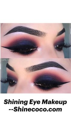 Eye Makeup Steps, Eye Makeup Art, Fall Makeup, Makeup Inspo, Makeup Inspiration, Beauty Makeup, Glamour Makeup Looks, Intense Eye Makeup, Gothic Eye Makeup