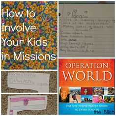 #2 most-read post of the week 2/16/18 | How to Involve Your Kids in Missions