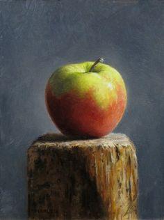 Apple+Pedestal...Michael Naples