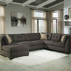 Picture of 3PC w/LAF Chaise- Steel