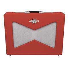 Fender Pawn Shop Vaporizer Guitar Amp in Rocket Red   Andertons