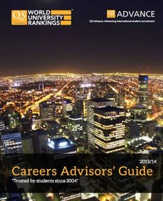 QS Careers Advisors' Guide from the World University Ranking