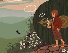 """다음 @Behance 프로젝트 확인: """"Tolkien Book Cover Set"""" https://www.behance.net/gallery/26471217/Tolkien-Book-Cover-Set"""