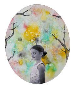 Tiziana Solito - Collage, watercolour. Photo courtesy by Roberta Buzzacchino.