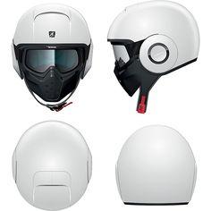 9360802cc042d9 Ministry of Bikes - Shark Raw Helmet Blank WHU