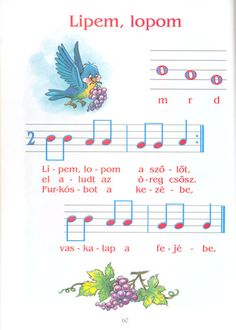 Zsuzsi tanitoneni - Google+ Music For Kids, Kindergarten Teachers, Music Theory, Album, Preschool Activities, Sheet Music, Lettering, Education, Sign