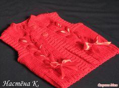 Безрукавочка (жилет) с Парижанки (для девочки) - Вязание для детей - Страна Мам