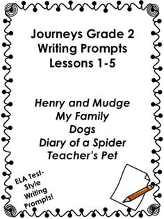 2nd grade common core standards to follow Journey's