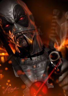 #Deadpool #Fan #Art. (X-Force Deadpool) By: Liquid-Venom. ÅWESOMENESS!!!™
