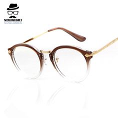 18f17ca150541 Classic 2016 Unisex Metal Full Frame Eyeglasses Reading Driving Designers Vintage  Eyewear Oversize Glasses For Women