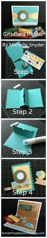Click here for easy steps to creating gift card holders with CTMH Artiste Cricut Cartridge. Great for personalizing gift cards for all occasions. http://somethingaboutsharing.com/simply-inspired-blog-hop-skylark-collection/ #SomethingAboutSharing #CTMHCricut