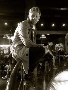 Arrow 4x05 - Matt Ryan - Behind the scenes