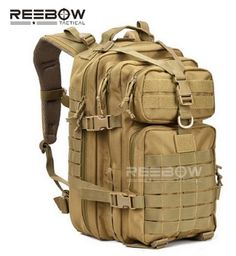 c2035229f9 Military Tactical Assault Pack Backpack Army Molle Waterproof Bug Out Bag  Backpacks Small Rucksack for Outdoor Hiking Camping Trekking Hunting Tan  Outdoor ...