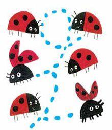 What the Ladybird Heard - Julia Donaldson, Lydia Monks - printable dominoes