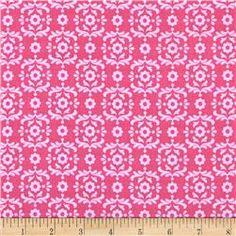 Riley Blake Summer Song 2 Damask Pink