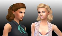 New hair Sims 4 style, I hope you enjoy! =) Available in default textures, from teen to elder, all colors. Available for the base gam...