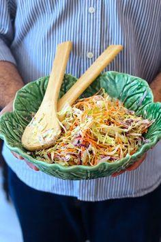 Coleslaw de Couve e Maçã (com Maionese Caseira) - http://gostinhos.com/coleslaw-de-couve-e-maca-com-maionese-caseira/