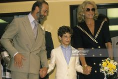 Princess Michael of Kent</a> with their ()'>Lord Frederick Windsor</a>, June 1988.