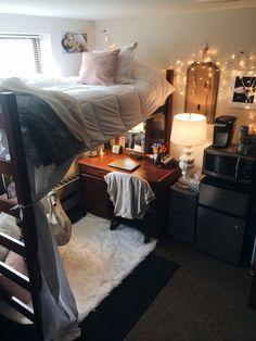Adorable dorm room #dormroom #college