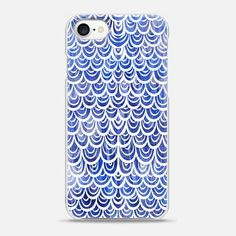 Watercolor Mermaid Blue Sapphire - Classic Grip Case