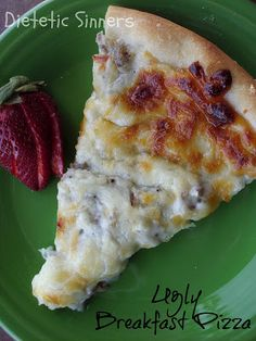 Dietetic Sinners: Sausage & Gravy Pizza aka Ugly Breakfast Pizza